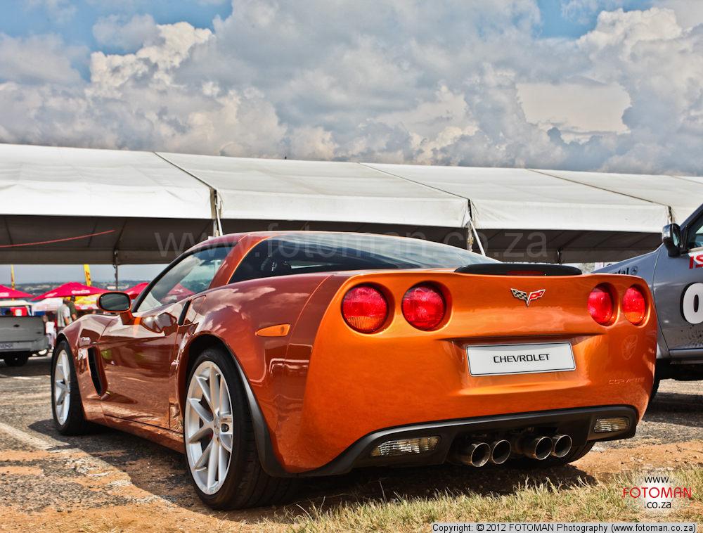 White Corvette With Nudes 56