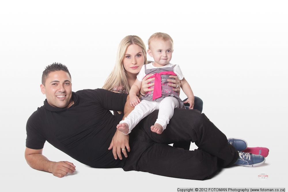 Beautiful family, Studio Photographer West Rand, Baby, FOTOMAN Professional, Gauteng