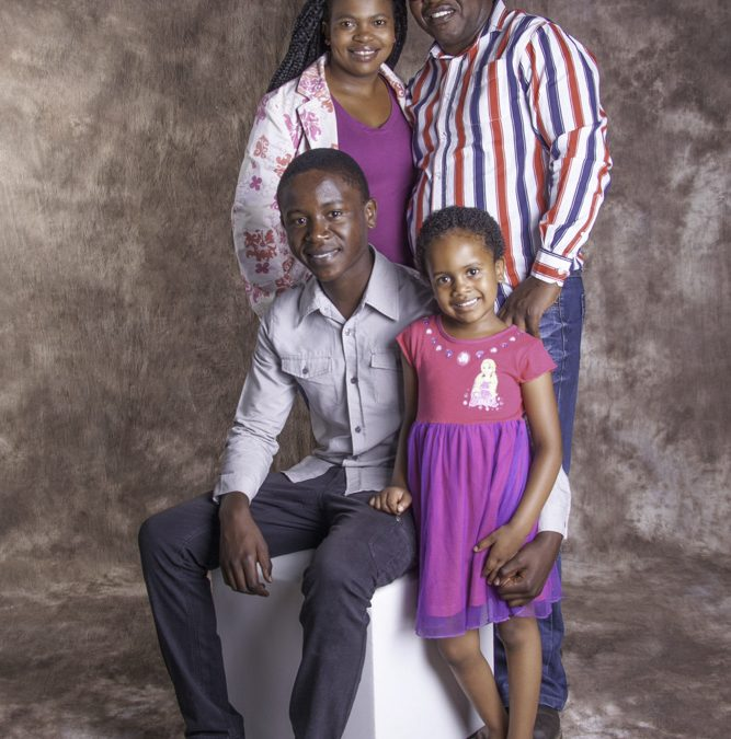 Family shoot with Silver & Sheila