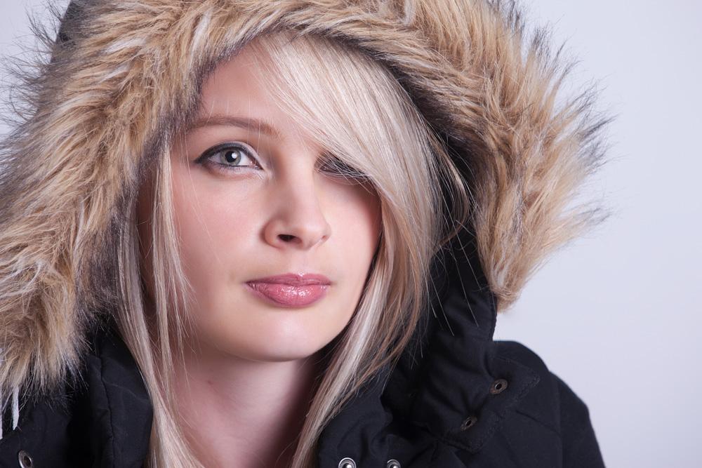 Winter shoot with Ivanka